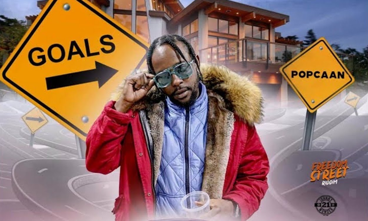 """New Music from Popcaan """"Goals"""" on the Freedom Street Riddim"""